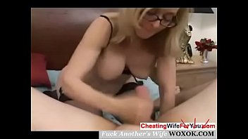 mature blonde flo pumping the anal with horny Fuck by burglar while husband in the house