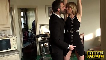 in scene couple dominated bdsm bound a Talking to trailor trash before fucking her