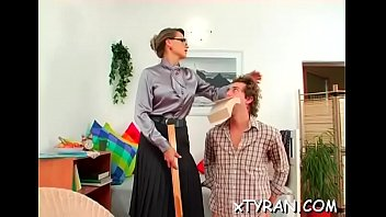 t mistress snip Crystal the pumping maid