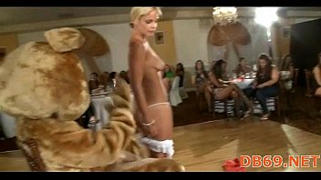 gets hotty whipping gagged tits on her raging Hobby warszawa strapon