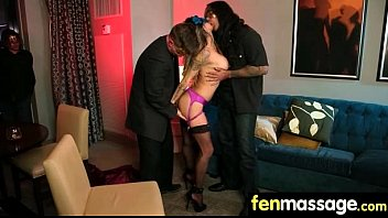 husband he cheat Large group of girls jerk lucky guy off