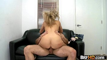 blond gets hard banged behind from Busty time stop