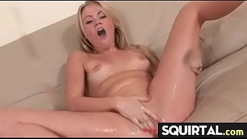 pussy squirt mouth Blonde pussy in 4k