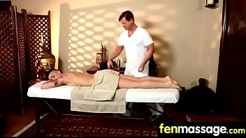 female massage happy Wife whips husband