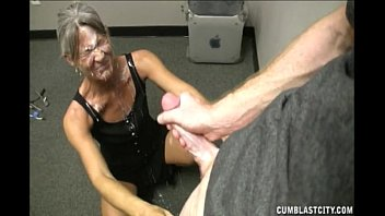 cum eats chubby breast man off Claire the ballerina