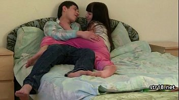 couple bed teen on young fuck amateur Shemale models fuck each other