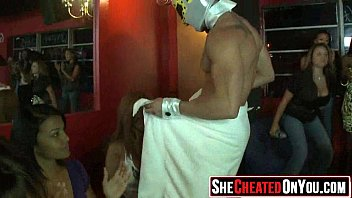 seduced cfnm by ladies party strippers Brunette couch milf