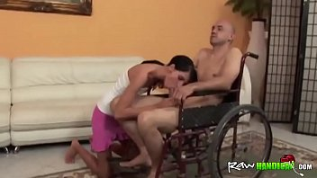 a handjob gives guy nurse handicap Katrina kafe hd sex video download