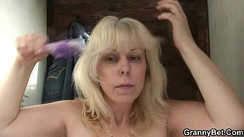 blonde granny creampie The training of princess donna day