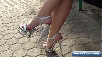 mature in heels high best walking French sexy tv show