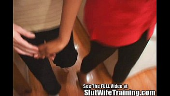 threesone chubby surprise wife Michelle bent over