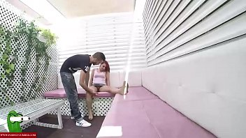 orgasm pussy boyfriend eats Blackhair leggings petite forced crying clothed abused and forcele