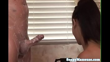 asian gets by busty fucked boyfriend hard her live Cute little brunette is getting banged hard from behind by black