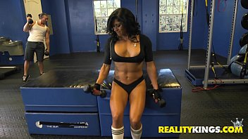 reality kings tights Perky titty latina catalina jose getting fucked hard by two new friends