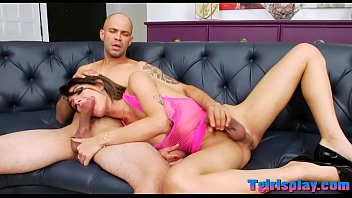 anal sex dressed shemale Areil x fighting