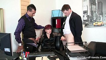 office unconscious mouth lady Femdom wet drink