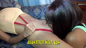 tiger asian all at lily pass Mom pussy rub