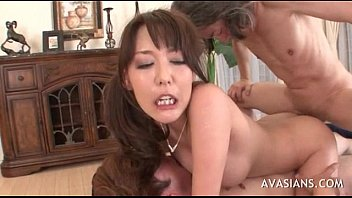 double bi vag mmf penetration Japanese redhead gets pussy licked part36