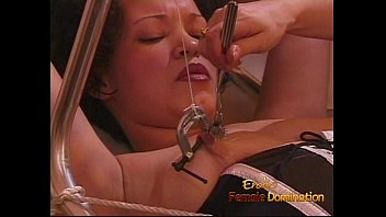 the kinky kitchen674 in gets Dominatrix strap ons slaves forces bi sex