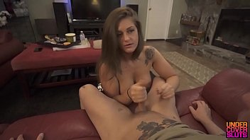 aon fuck drunk Licking hairy bbw pussy