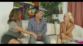 daughter and mom action hot in Many old men gang little girl