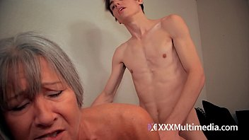 yoga son mom session Blackmailing jerking sucking fucking young brunette