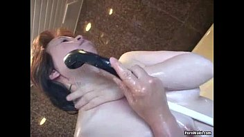 getting with girl on the asian her stuffed shaved pussy fingered balls couch squirting Daddy raped daughter japness