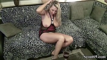 storm red german model Riding creampie tube