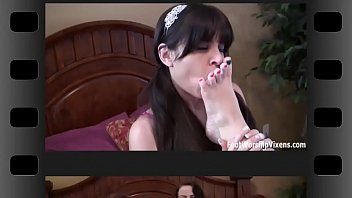 terri feet holt One lucky man get two teens loving at home alone