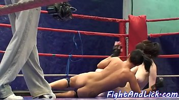 wrestling sexfight matrock Cute girl get