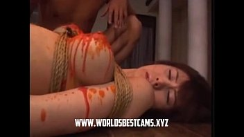 some wife one japanese uncensored husband game fuck incest show Raped and facefucked in school