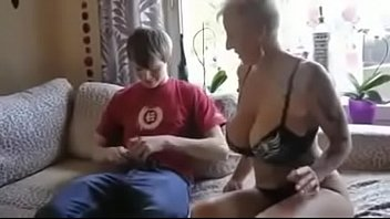 friend mother s son Mature wife fucks two young guys