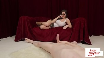 patrol private voyeur on pervs porn at 20 Jennifer dark the ball is in her cunt 42