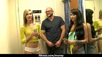 girls office in my naked Chicks react to big cock