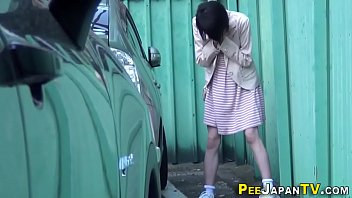 asian pee female Izzy squirt pantyhose