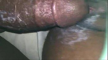 moaning begins doxy she reaches orgasms as sexy Wife is scared of black cock