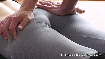 yoga pants torn and fuck Anna bell peaks rough sex