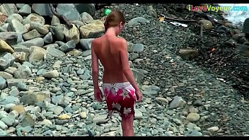 nudist nude beach Dad mom and daugther sex
