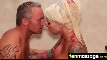 crazy prostate blowjob with massage Fake tits riding3
