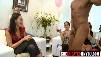 seduced ladies by party cfnm strippers Daddy friend and son