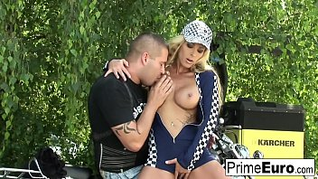 strapon full gets pussy of blonde Moom and soon