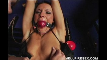 leather in full girl Mexican helps son