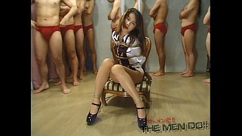 forced tied bizarre japanese stripped teacher Sara jay and ava devine police punished