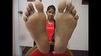 size school 8 high chinese 5 soles girl Pain mistress joi