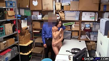 officer pawnshop fucked female 2016 the security in Teen pussy penetrated for the first time